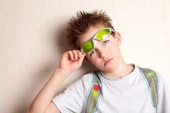 Retrato de adolescente serio, triste Fotos de archivo