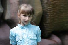 Retrato de adolescente tímido Imagen de archivo libre de regalías