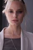 Retrato de Agnete Hegelund do modelo de forma em New York Imagem de Stock