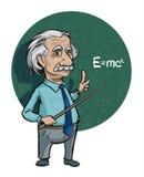 Retrato de Albert Einstein Ilustração do vetor Uso editorial somente ilustração royalty free