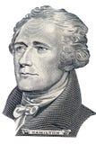 Retrato de Alexander Hamilton Fotografía de archivo