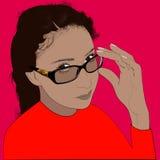 Retrato de Alina Fotos de archivo