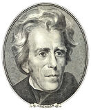 Retrato de Andrew Jackson Fotografía de archivo libre de regalías