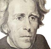 Retrato de Andrew Jackson fotografía de archivo