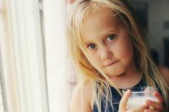 Retrato de 5 anos de menina idosa Fotografia de Stock