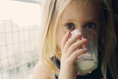 Retrato de 5 anos de menina idosa Foto de Stock Royalty Free