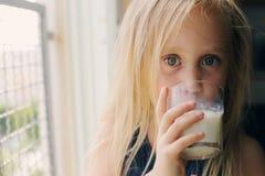 Retrato de 5 anos de menina idosa Foto de Stock