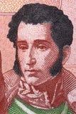 Retrato de Antonio Jose de Sucre fotos de stock