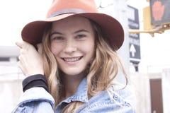 Retrato de Behati Prinsloo dos modelos de forma Fotos de Stock