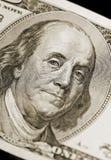 Retrato de Ben Franklin Imagens de Stock