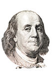 Retrato de Benjamin Franklin Imagem de Stock Royalty Free