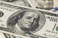 Retrato de Benjamin Franklin Imagenes de archivo