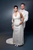 Retrato de boda Imagen de archivo libre de regalías