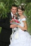 Retrato de boda imágenes de archivo libres de regalías