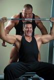 Retrato de bodybuilders Imagen de archivo
