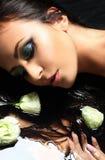 Retrato de bonito o espanhol Fotos de Stock Royalty Free