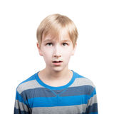 Retrato de Boy's Fotografia de Stock Royalty Free