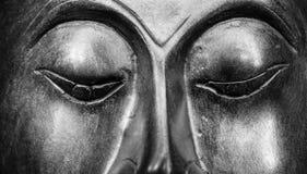 Retrato de Buda aislado Foto de archivo