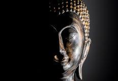 Retrato de Buda aislado Imágenes de archivo libres de regalías