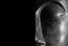 Retrato de Buda aislado Fotos de archivo