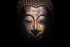 Retrato de Buda aislado Imagen de archivo libre de regalías