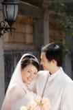Retrato de casamento Imagem de Stock