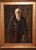 Retrato de Charles Robert Darwin imagens de stock royalty free