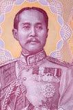 Retrato de Chulalongkorn Rama V fotografía de archivo