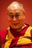 Retrato de Dalai Lama, la India Imagen de archivo