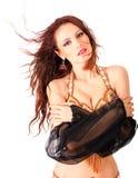 Retrato de dançarino charming Imagem de Stock