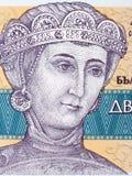 Retrato de Desislava Sevastokratoritsa Fotografia de Stock Royalty Free
