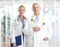 Retrato de doctores Imagenes de archivo