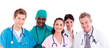 Retrato de doctores Foto de archivo
