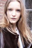 Retrato de Dorothea Barth Jörgensen do modelo de forma Fotos de Stock Royalty Free