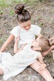 Retrato de dos novias de las muchachas imagen de archivo libre de regalías