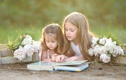 Retrato de duas meninas das amigas Foto de Stock Royalty Free