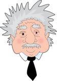 Retrato de Einstein Imágenes de archivo libres de regalías