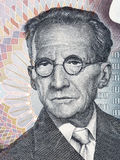 Retrato de Erwin Schrodinger del dinero austríaco