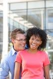 Retrato de estudantes felizes Imagens de Stock