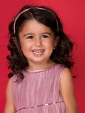 Retrato de feliz, muchacha del ittle Imagen de archivo libre de regalías