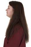 Retrato de Femail - perfil Fotografía de archivo