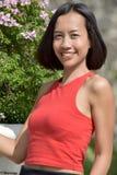 Retrato de Filipina Adult Female jovem fotos de stock royalty free