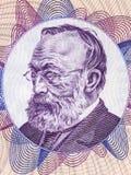 Retrato de Gottfried Keller Imagem de Stock