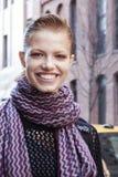 Retrato de Hailey Clauson do modelo de forma Fotos de Stock Royalty Free
