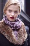 Retrato de Hailey Clauson do modelo de forma Fotos de Stock