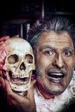 Retrato de Halloween Fotografía de archivo libre de regalías