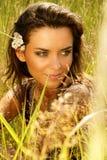 Retrato de hermoso atractivo Imagenes de archivo