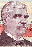 Retrato de Ivan Minchov Vazov del dinero búlgaro Foto de archivo libre de regalías