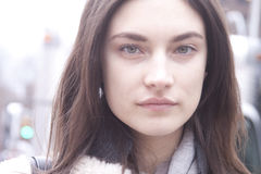 Retrato de Jacquelyn Jablonski do modelo de forma Imagem de Stock