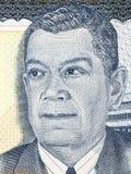 Retrato de Juan Manuel Galvez Foto de archivo